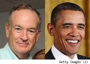Bill O'Reilly, Barack Obama