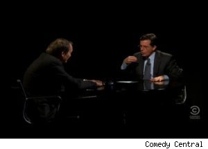 Charlie Rose on 'The Colbert Report'