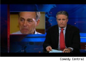 Jon Stewart Mocks John Boehner on 'Daily'