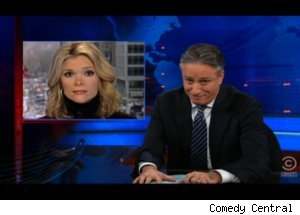 Jon Stewart Slams Megyn Kelly on 'Daily Show'