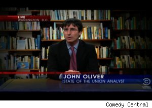 John Oliver's State of the Union Rebuttal on 'Daily'