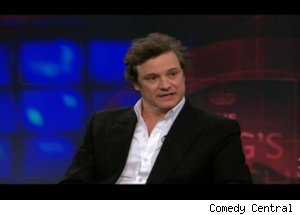 Colin Firth Talks 'King's Speech' on 'Daily'