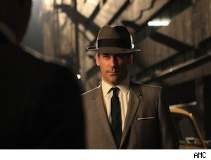 Jon Hamm as Don Draper on 