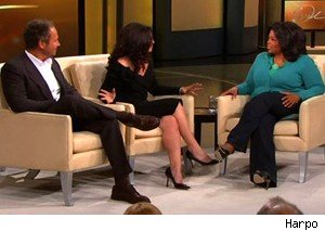 Peter MArc Jacobson and Fran Drescher on 'The Oprah Winfrey Show'