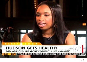 Jennifer Hudson on 'The Early Show'