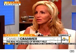 Camille Grammer on divorce, 'Housewives' on 'The Early Show'
