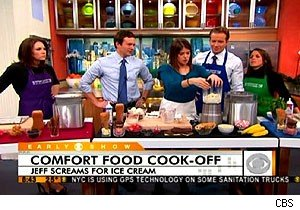 Gail Simmons and a blender problem on 'The Early Show'