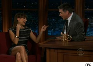 Rashida Jones Talks Sex Tapes on 'Late Late Show'
