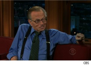 Larry King Talks The Mob on 'Late Late'