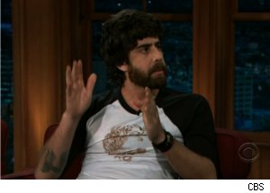 Adam Goldberg Talks Intruder on 'Late Late'