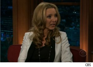 Lisa Kudrow Talks 'Web Therapy' on 'Late Late Show'