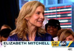 Elizabeth Mitchell talks 'V' and 'Lost' on 'Good Morning America'