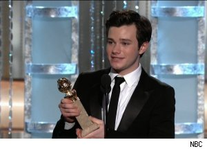 Chris Colfer, 'The 68th Annual Golden Globe Awards'