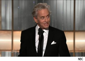 Michael Douglas, 'The 68th Annual Golden Globe Awards'