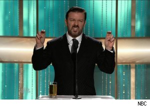 Ricky Gervais, 'The 68th Annual Golden Globe Awards'