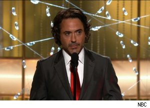 Robert Downey, Jr., 'The 68th Annual Golden Globe Awards'
