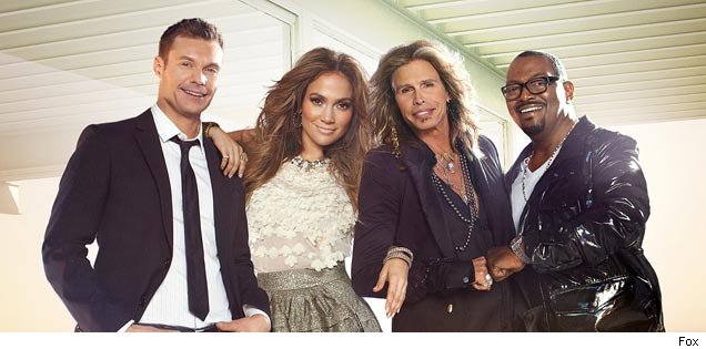 The Season 10 cast of 'American Idol'