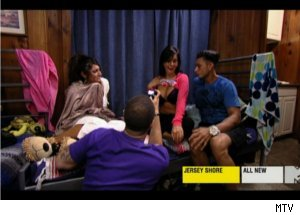 Interviewing JWoww's Chest on 'Jersey Shore'