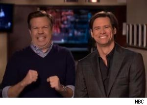 Jason Sudekis, Jim Carrey
