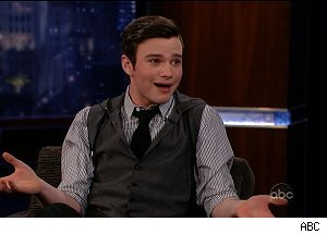 Chris Colfer, 'Jimmy Kimmel Live'
