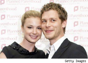 Joseph Morgan With Emily Van Camp