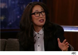 Sandra Oh Talks About Her Mom on 'Jimmy Kimmel Live'