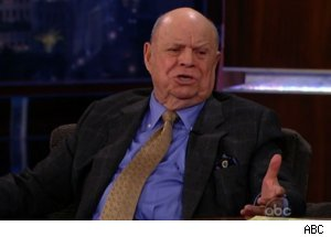 Don Rickles Talks Regis Philbin on 'Jimmy Kimmel Live'
