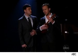 Kimmel, Ryan Gosling Sing on 'Jimmy Kimmel Live'