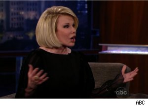 Joan Rivers Talks New Show on 'Jimmy Kimmel Live'