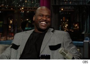 Shaquille O'Neal, 'Late Show with David Letterman'