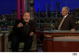 Kevin James, 'Late Show with David Letterman'