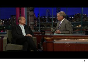Kelsey Grammer, 'Late Show with David Letterman'