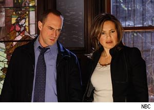 Mariska Hargitay, Chris Meloni, Law and Order: SVU