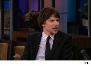 Jesse Eisenberg Talks Zuckerberg on 'Tonight Show'