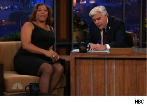 Queen Latifah Advises Leno on 'Tonight'