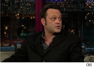 Vince Vaughn Talks Kevin James on 'Late Show'