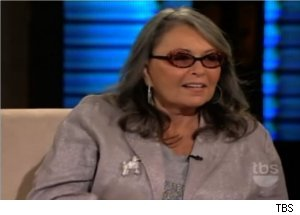 Roseanne Barr Talks Tom Arnold on 'Lopez Tonight'