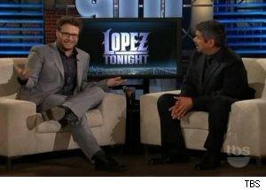 Seth Rogen Talks Porn on 'Lopez Tonight'