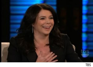 Lauren Graham Talks 'George Lopez' Lessons on 'Lopez Tonight'