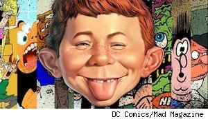 Alfred E. Neuman, the cover boy of 