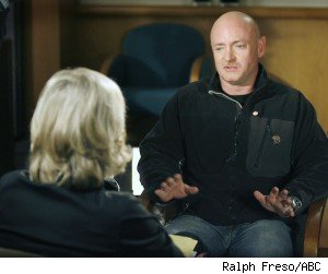 Capt. Mark Kelly Talks to Diane Sawyer