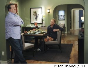 Eric Stonestreet and Jesse Tyler Ferguson in 'Modern Family' - 'Our Chirldren, Ourselves'