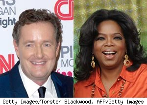 Piers Morgan, Oprah Winfrey