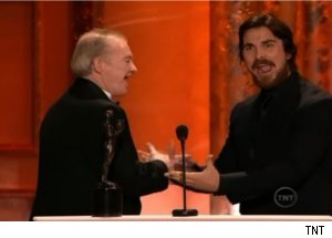 Christian Bale, Dickie Eklund on 'SAG Awards' 2011