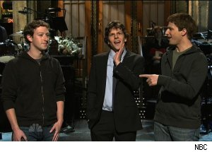 Mark Zuckerberg & Jesse Eisenberg, 'The Social Network'