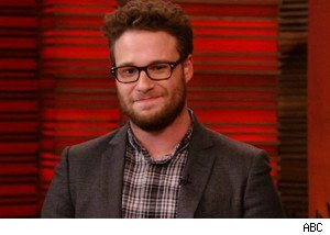 Seth Rogen discusses his topless engagement on 'Live With Regis and Kelly'