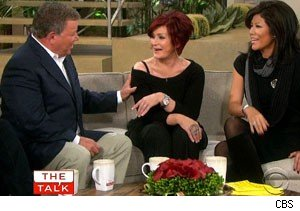 William Shatner and Sharon Osbourne on 'The Talk'