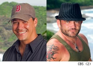 Boston Rob Mariano, Russell Hantz, Survivor: Redemption Island