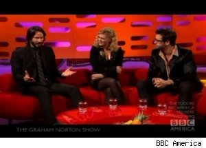 Keanu Reeves, 'The Graham Norton Show'