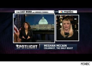 Meghan McCain, 'The Last Word with Lawrence O'Donnell